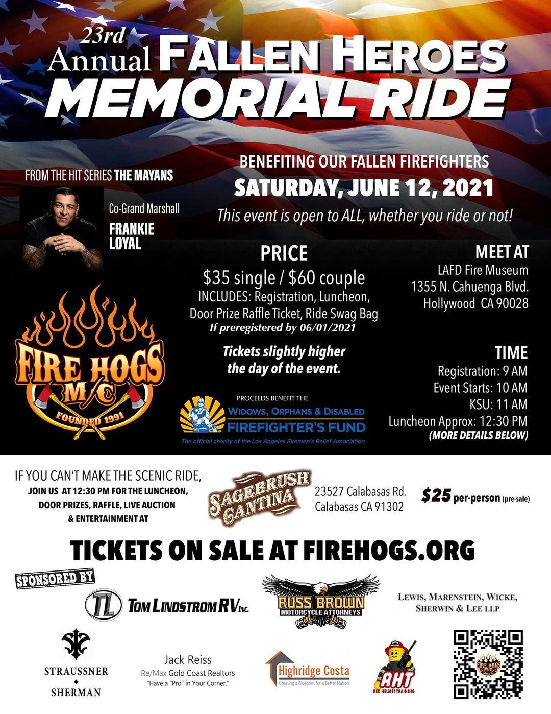 Fire Hogs Memorial